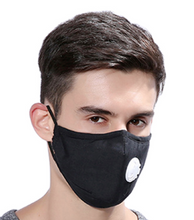 Load image into Gallery viewer, Masque Anti Pollution anti dust Virus mask Face carbon Cotton filter PM 2.5