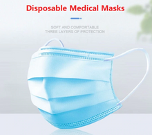 Load image into Gallery viewer, X50 - X10 Pcs Medical Mask anti dust Virus mask Face carbon Cotton filter PM 2.5 N95