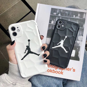 Jordan Flyman Basketball NBA Cover Case For Apple Iphone 11 Pro Max 6 7 8 X Xr Xs