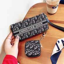 Load image into Gallery viewer, Christian Dior Wallet Bag HandBag Case For Iphone Samsung Huawei Xiaomi Oppo Vivo Realme OnePlus