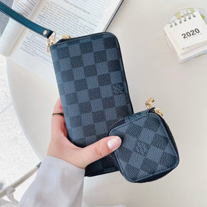 Louis Vuitton Gucci Dior Fendi Wallet Bag Case For Iphone 12 Pro Max Mini & AirPods Pro