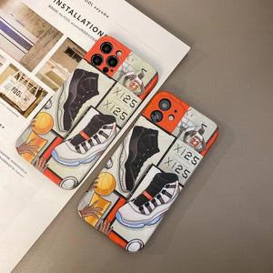 Jordan Air 23 Sneakers Case For Apple Iphone 12 Pro Max Mini 11 SE X Xr Xs 7 8