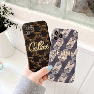 Paris France Céline Case For Apple Iphone 12 Pro Max Mini 11 Xr Xs X 7 8