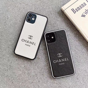 Paris Chanel Coco Case For Apple Iphone 12 Pro Max Mini 11 X Xr Xs 7 8