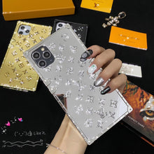 Load image into Gallery viewer, France Louis Vuitton Glitter Case For Apple Iphone 12 Pro Max 11 Xr Xs X 7 8 SE
