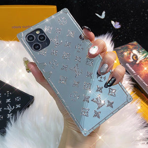 France Louis Vuitton Glitter Case For Apple Iphone 12 Pro Max 11 Xr Xs X 7 8 SE