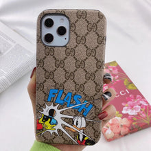 Load image into Gallery viewer, Italy Gucci Donald Duck Case For Apple Iphone 12 Pro Max Mini 11 X Xr Xs 7 8