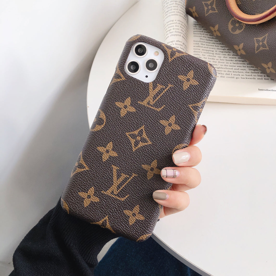France Louis Vuitton Case For Apple iPhone 12 Pro Max Mini 11 SE Xr Xs X 7 8