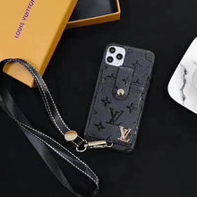 Load image into Gallery viewer, Louis Vuitton Wallet Bag Case For Apple Iphone 12 Pro Max Mini SE 11 Xr Xs X 7 8
