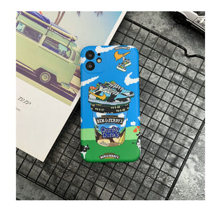 Nike Air Ben & Jerry's Case For Apple Iphone 12 Pro Max Mini 11 SE X Xr Xs 7 8