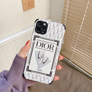 Nike Air Dior Jordan Case For Apple Iphone 12 Pro Max Mini 11 SE X Xr Xs 7 8