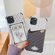 Load image into Gallery viewer, Nike Air Dior Jordan Case For Apple Iphone 12 Pro Max Mini 11 SE X Xr Xs 7 8