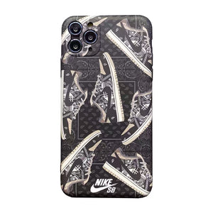 Nike Air Dior Sneakers Case For Apple Iphone 12 Pro Max Mini 11 SE 7 8 X