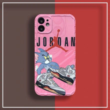 Load image into Gallery viewer, Nike Air Jordan 23 Tom & Jerry Case Apple Iphone 12 Pro Max Mini 11 SE X Xr Xs 7 8