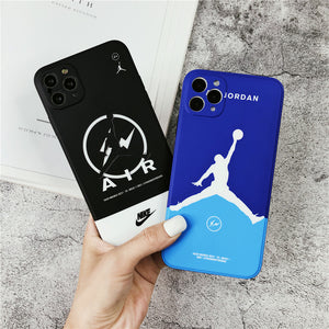 Nike Air Jordan Flyman Case For Apple Iphone 12 Pro Mini Max 11 SE 7 8 X Xr Xs