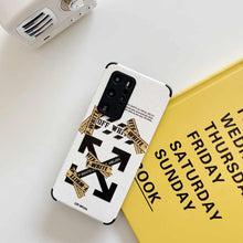 Load image into Gallery viewer, Off White Cover Case For Huawei P30 P40 Pro Mate 40 30 Nova