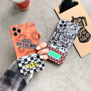 Vans Off The Wall Skateboard Case For Apple Iphone 12 Pro Max Mini 11 SE X Xr Xs 7 8