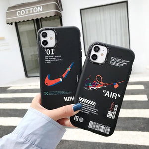 Sneakers Nike Air Jordan Off White Case For Apple Iphone 12 Pro Max Mini 11 X Xr Xs 7 8