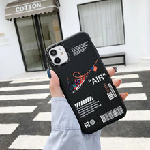 Load image into Gallery viewer, Sneakers Nike Air Jordan Off White Case For Apple Iphone 12 Pro Max Mini 11 X Xr Xs 7 8