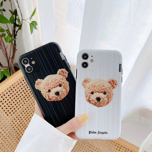 Palm Angels Bear Cover Case For Apple Iphone 11 Pro Max X Xr Xs 6 7 8
