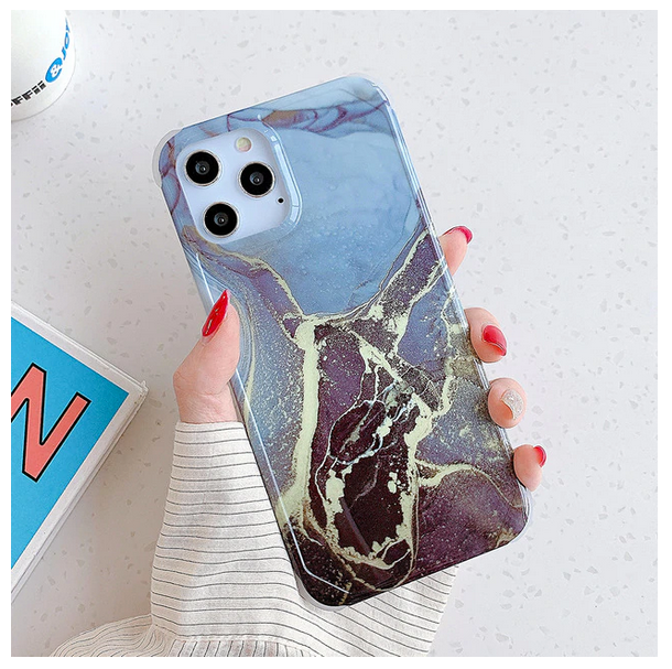 Shockproof Cracked Marble Case For Apple Iphone 12 Pro Max 11 X Xr Xs SE