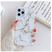 Load image into Gallery viewer, Shockproof Cracked Marble Case For Apple Iphone 12 Pro Max 11 X Xr Xs SE