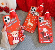 Load image into Gallery viewer, Merry Christmas Santa Claus 3D Case For Apple Iphone 12 Pro Max 11 X Xr Xs SE 7 8 Plus