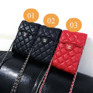 Chanel Coco Chanel CC Wallet Bag HandBag Case For Iphone 12 Pro Max 11 X Xr Xs 6 7 8 SE