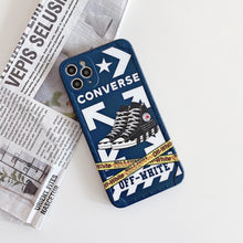 Load image into Gallery viewer, Off White Converse Case For Apple Iphone 12 Pro Max Mini 11 SE 7 8 X Xr Xs