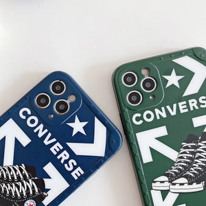 Off White Converse Case For Apple Iphone 12 Pro Max Mini 11 SE 7 8 X Xr Xs