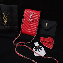 Load image into Gallery viewer, Yves Saint Laurent YSL Wallet Bag HandBag Case For Iphone 12 Pro Max 11 X Xr Xs 6 7 8 SE