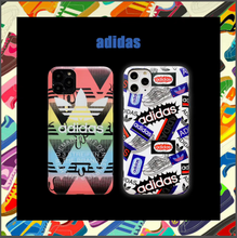 Load image into Gallery viewer, Luxury Sport Adidas Coque Cover Case For Apple Iphone 11 Pro Max SE X Xr Xs 6 7 8