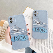 Load image into Gallery viewer, Nike Air Jordan Dior Sneakers Case For Apple Iphone 12 Pro Max Mini 11 SE X Xr Xs 7 8