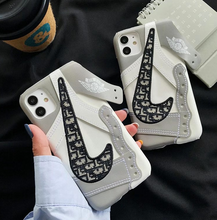 Load image into Gallery viewer, Nike Air Jordan Dior Case For Apple Iphone 12 Pro Max Mini SE X Xr Xs 7 8