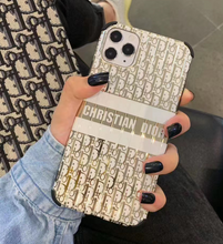 Load image into Gallery viewer, Luxury Dior Paris France Christian Dior Case For Apple Iphone 11 Pro Max SE X Xr Xs 7 8