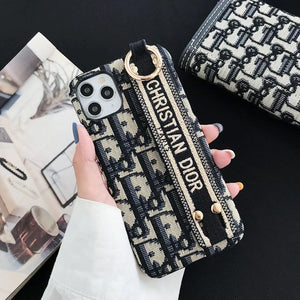 Dior Paris France Christian Dior Case For Apple Iphone 12 Pro Max Mini 11 X Xr Xs 7 8 SE
