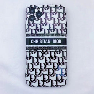 Luxury Dior Paris France Christian Dior Case For Apple Iphone 12 Pro Max 11 X Xr Xs 7 8 SE