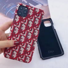 Load image into Gallery viewer, Luxury Christian Dior Cover Case For Apple Iphone 12 Pro Max Mini SE X Xr Xs 7 8