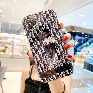 Christian Dior Mickey Disney Case For Apple Iphone 11 Pro Max SE Xr Xs 7 8