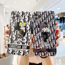 Load image into Gallery viewer, Christian Dior Mickey Disney Case For Apple Iphone 11 Pro Max SE Xr Xs 7 8