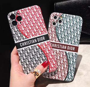 Luxury Paris France Christian Dior Case For Apple Iphone 11 Pro Max SE X Xr Xs 7 8
