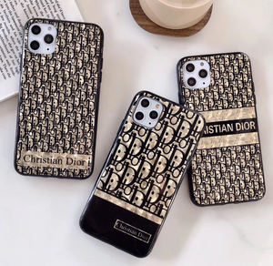 Luxury Dior Paris France Christian Dior Case For Apple Iphone 11 Pro Max SE X Xr Xs 7 8