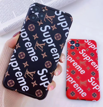 Load image into Gallery viewer, Louis Vuitton Supreme Case For Apple iPhone 12 Pro Max Mini 11 SE Xr Xs X 7 8