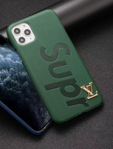 Luxury Paris France Louis Vuitton Supreme Case For Apple Iphone 11 Pro Max SE Xr Xs X 7 8