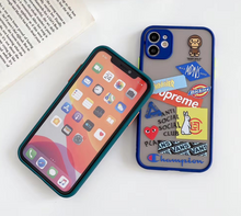 Load image into Gallery viewer, Givenchy Yves Saint Laurent Nike Adidas Supreme Case For Apple Iphone 11 Pro Max SE X Xr Xs 7 8