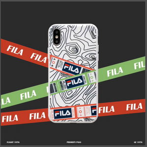 Luxury Italy Sport Fila Cover Case For Apple Iphone 11 Pro Max X Xr Xs 6 7 8