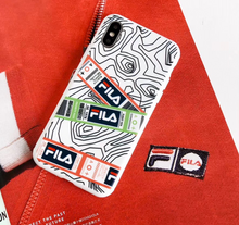 Load image into Gallery viewer, Luxury Italy Sport Fila Cover Case For Apple Iphone 11 Pro Max X Xr Xs 6 7 8