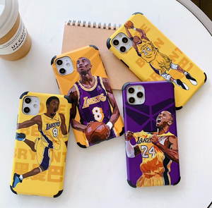 Kobe Bryant NBA Lakers 24 Cover Case Apple Iphone 11 Pro Max 7 8 X Xr Xs