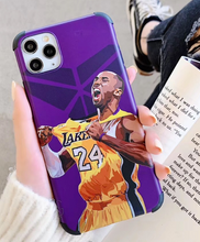 Load image into Gallery viewer, Kobe Bryant NBA Lakers 24 Cover Case Apple Iphone 11 Pro Max 7 8 X Xr Xs