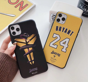 Kobe Bryant NBA Lakers 24 Case For Apple Iphone 12 Pro Max Mini 11 SE 7 8 X